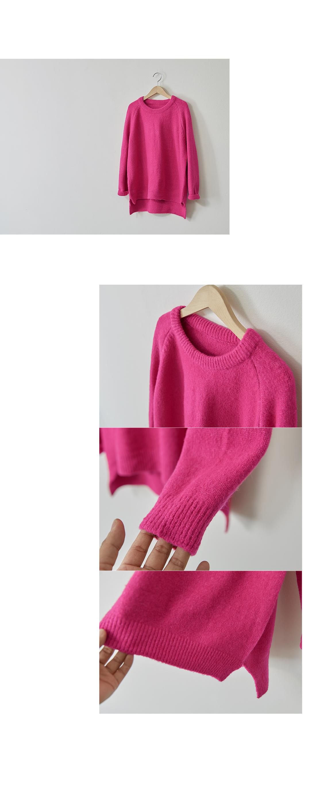 Happiness Cozy Split Knit #103032