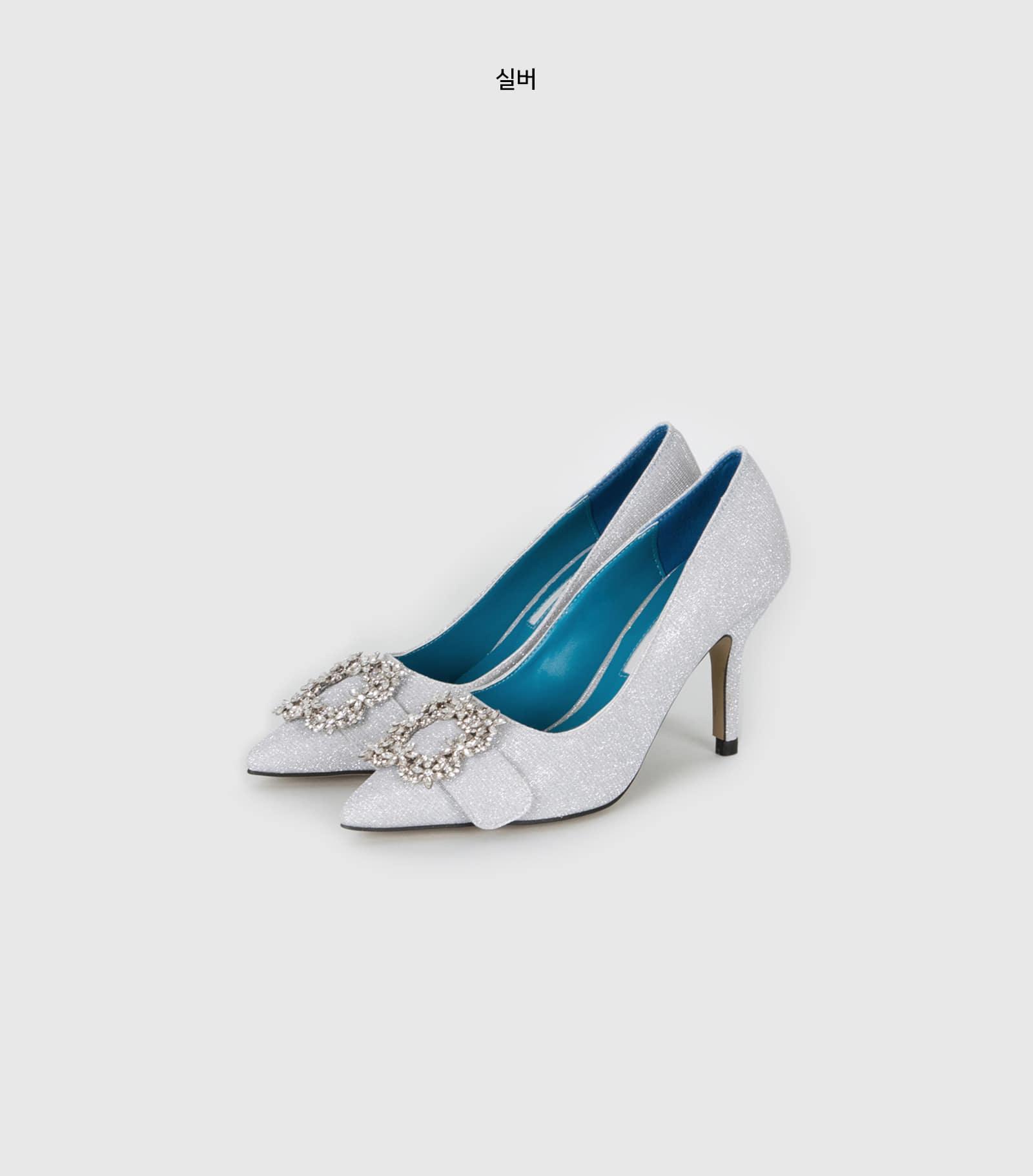 Queen Pendant High Heel Pumps