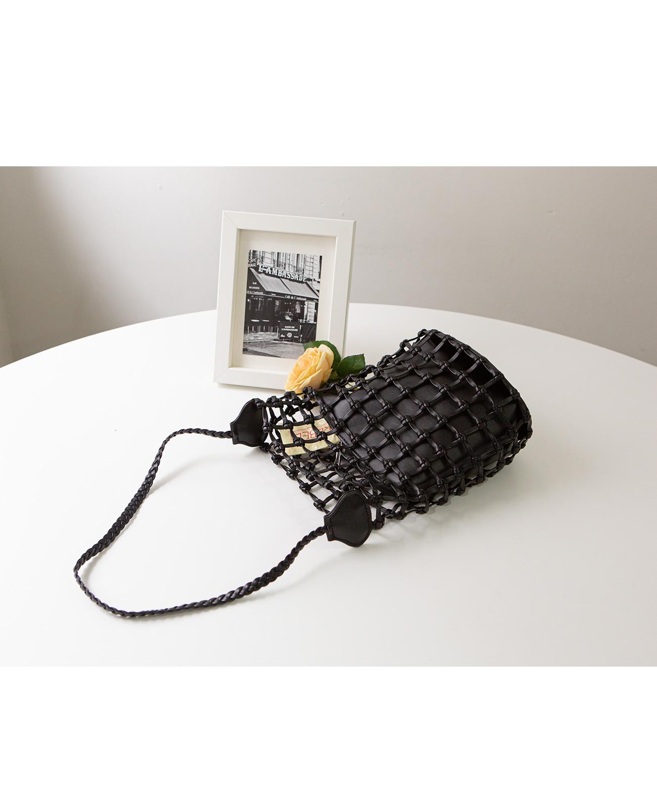 Dard Net Pouch Tote Bag #86224