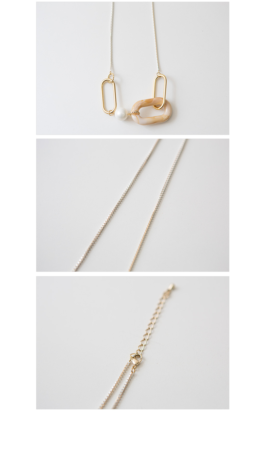Pearl Homica Long Necklace #86182
