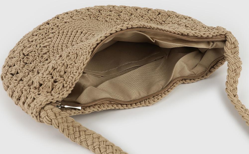 Antique cotton cross shoulder bag