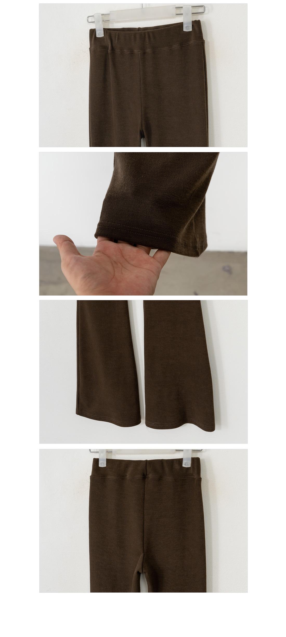 Comfortable bootcut banding pants #75425