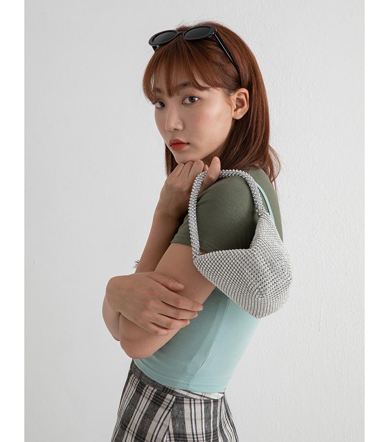 Cubic mini pouch bag