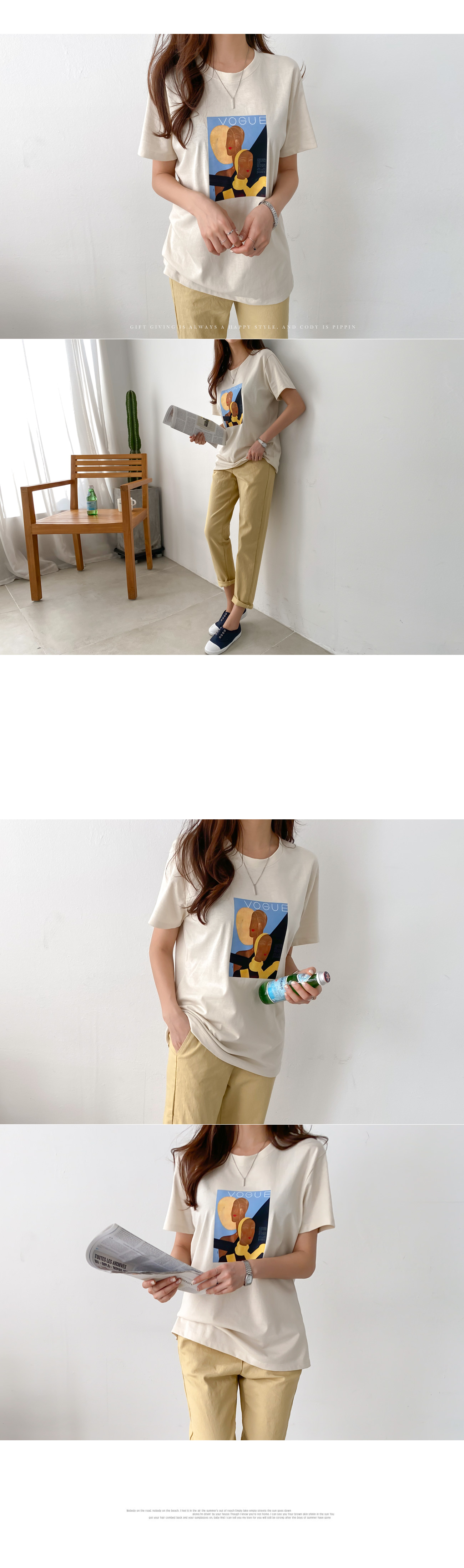 Art printing short sleeve t-shirt #108008
