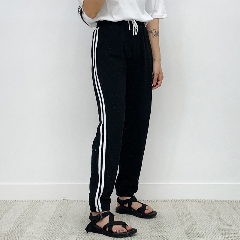 Jogger two-line training pants