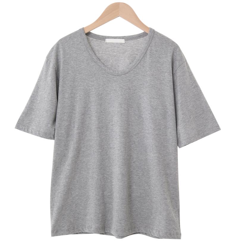 Loft Short Sleeve U-neck T-shirt