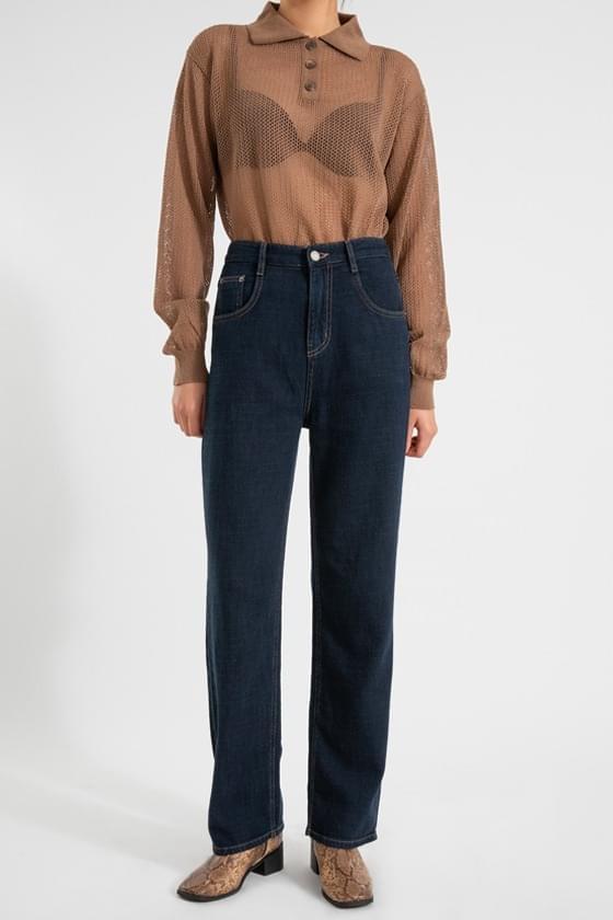 Steady dough straight jeans デニムパンツ