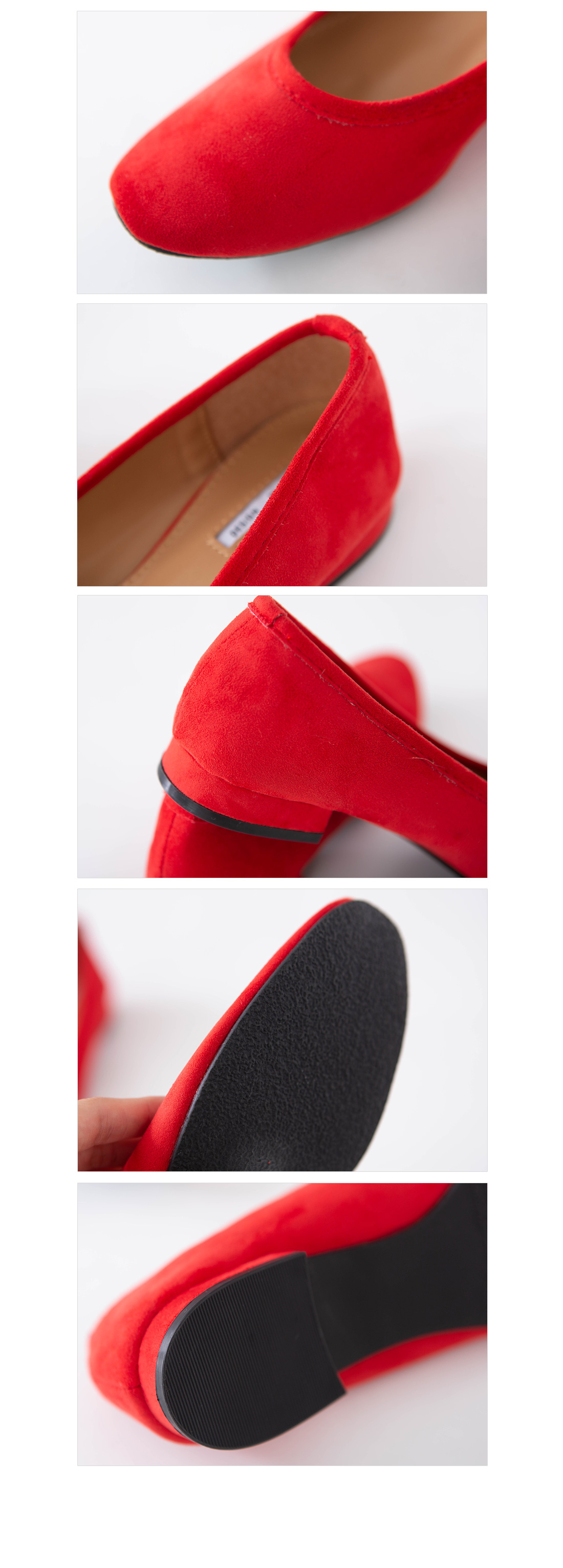 Suede pumps loafers #85507