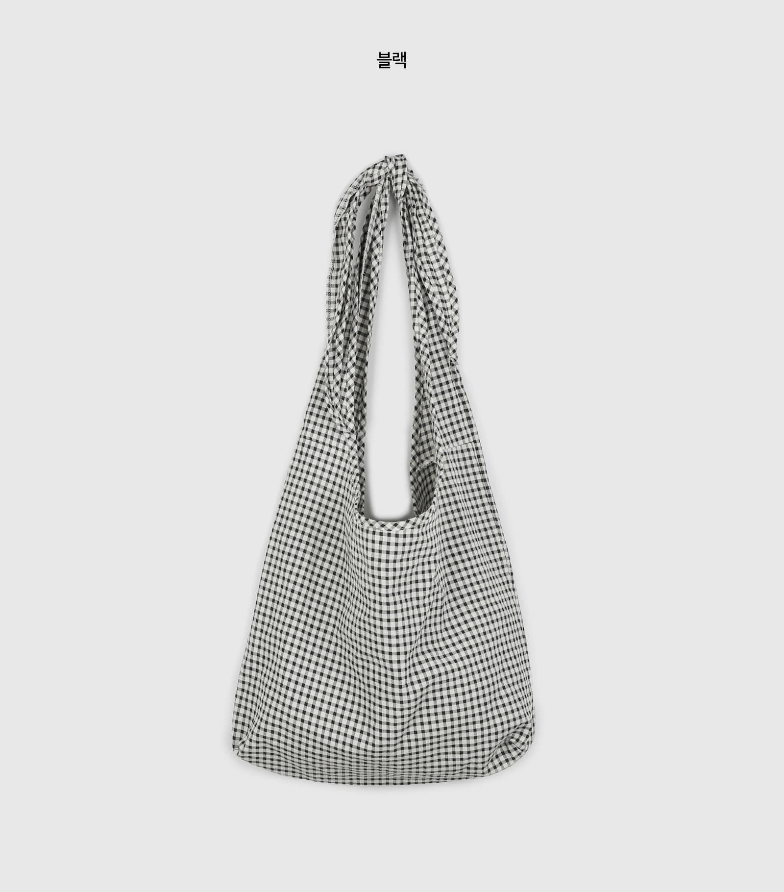Picnic check pattern shoulder bag