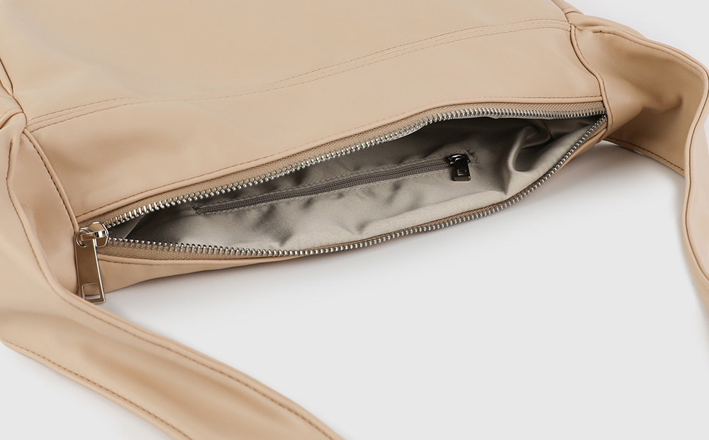 Color bump cross shoulder bag