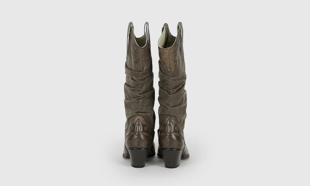 Return autumn western boots