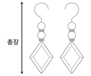 Daily Jewelery One Touch Earrings #86256