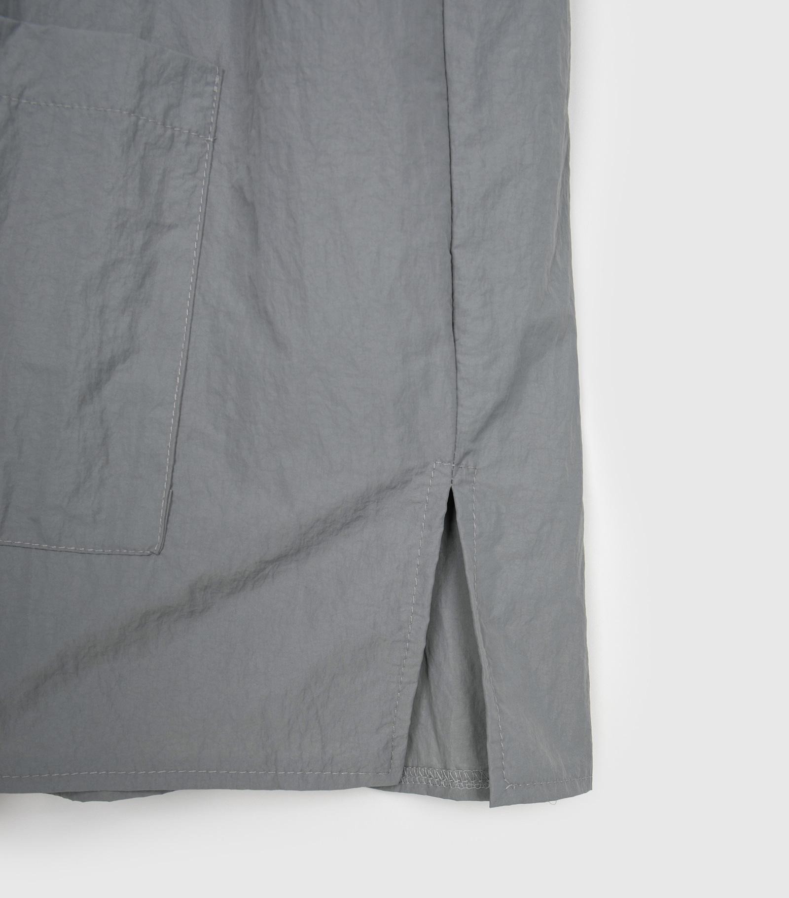 Unisex Nylon Half Shirt Jacket