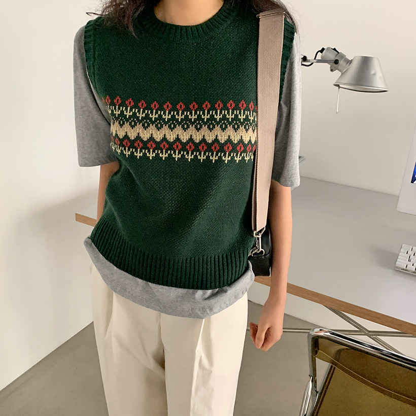 Vintage Flower Knit Best