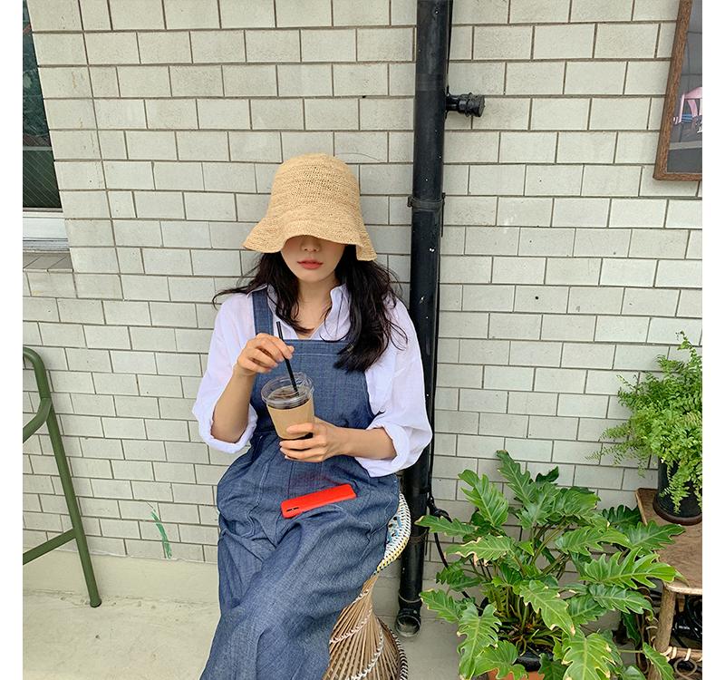 Paper bucket hat
