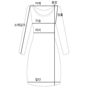 Linen V-Tim Dress #35364