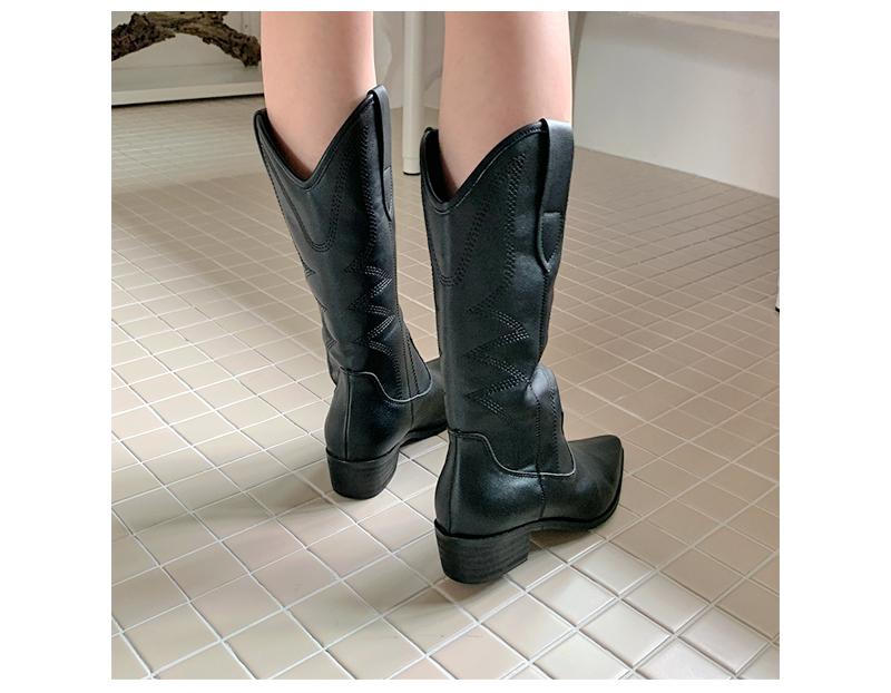 Marantstitch western boots
