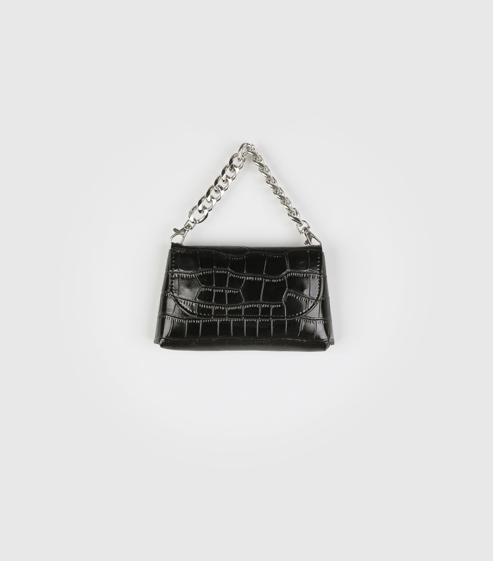 Animal Pattern Shine Chain Multi Belt Bag