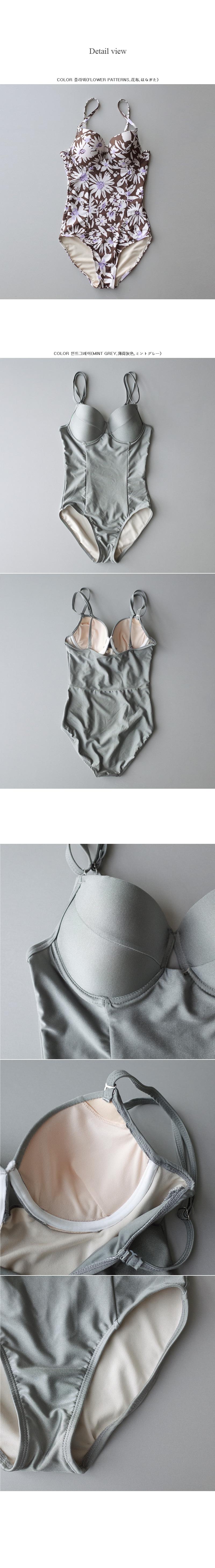 Coco Wire bikini mint gray