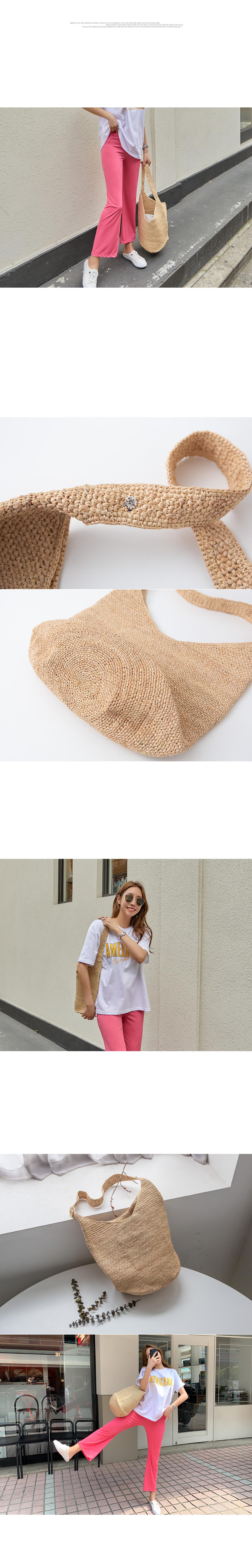Summer raffia bag #86202