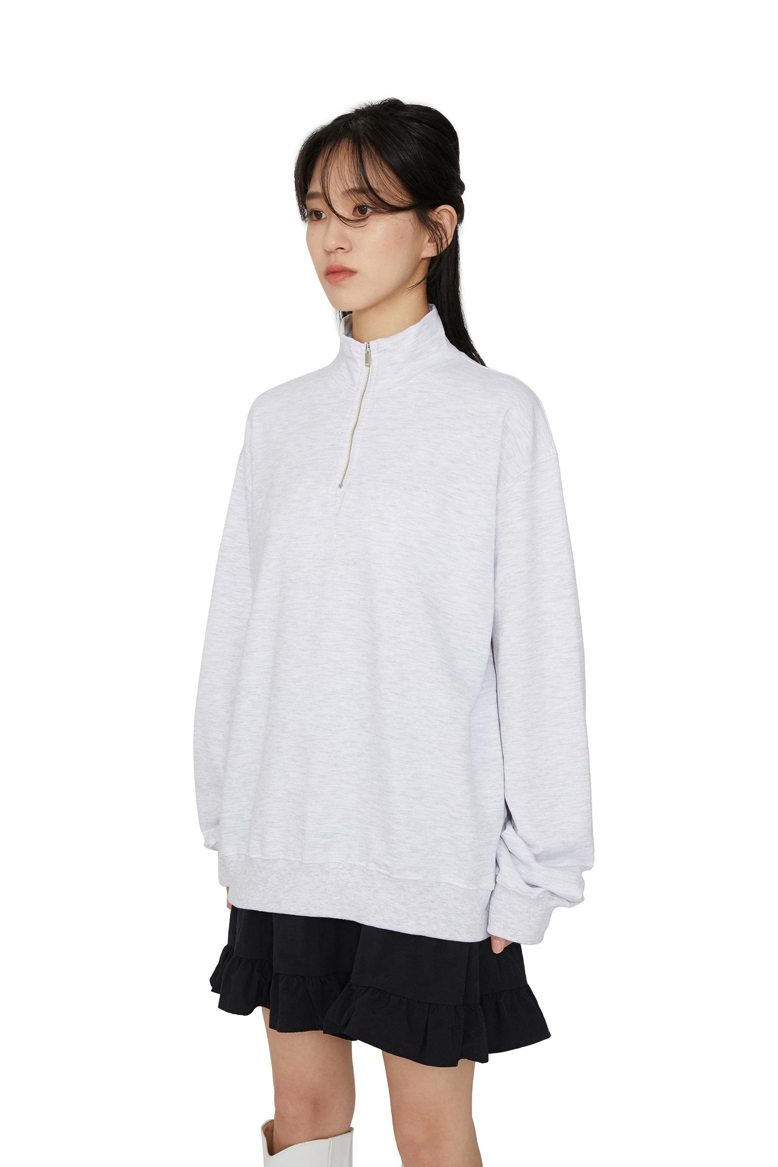 Dave cotton zip-up sweatshirt