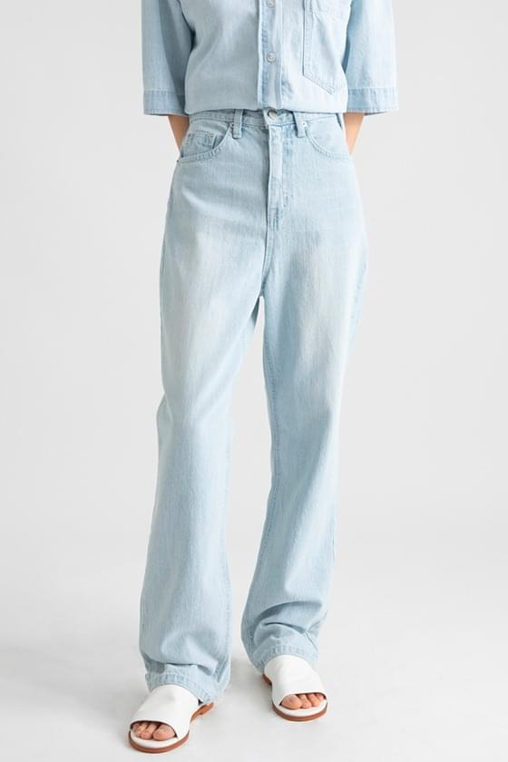 Regular high-rise wide jeans