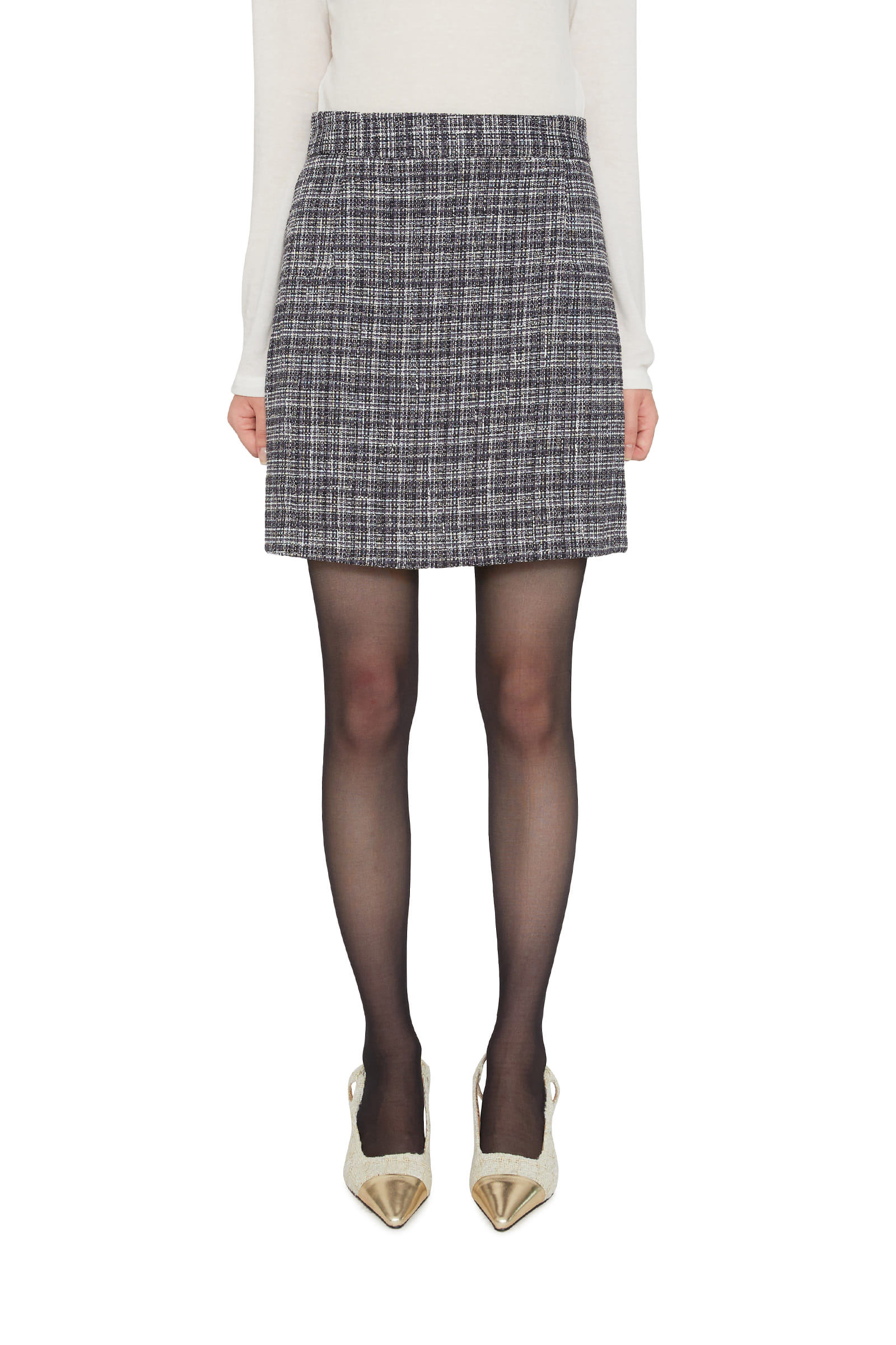 Amy tweed mini skirt