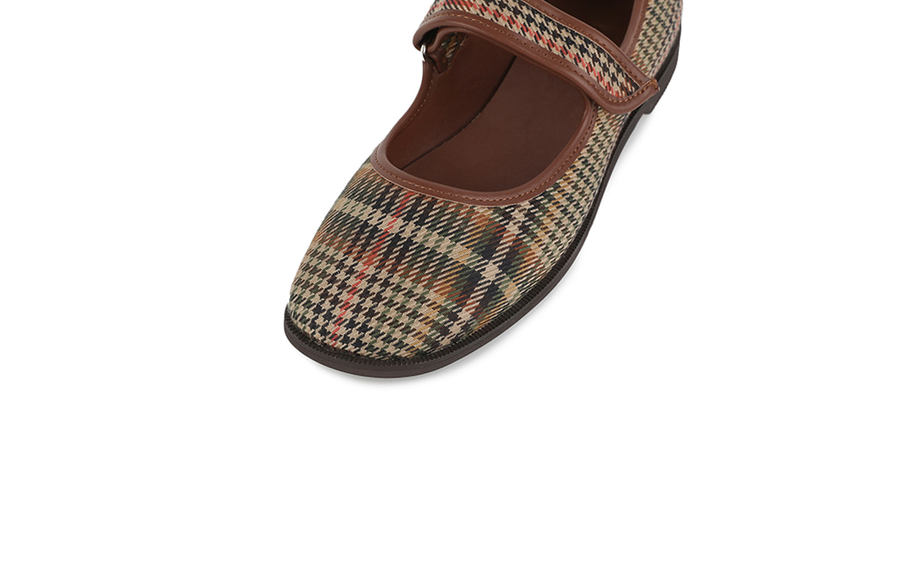 Sloby Mary Jane flat sandals