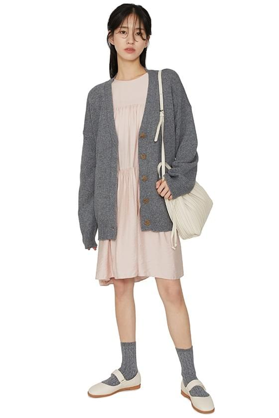 Public over-knit cardigan 開襟衫