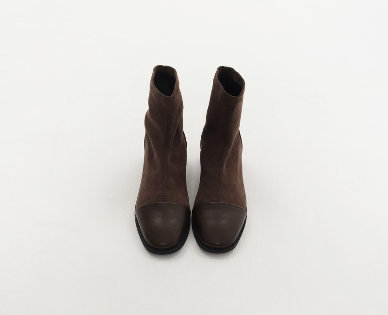 Stunning suede ankle boots