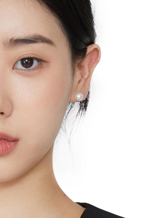 Mud pearl earrings
