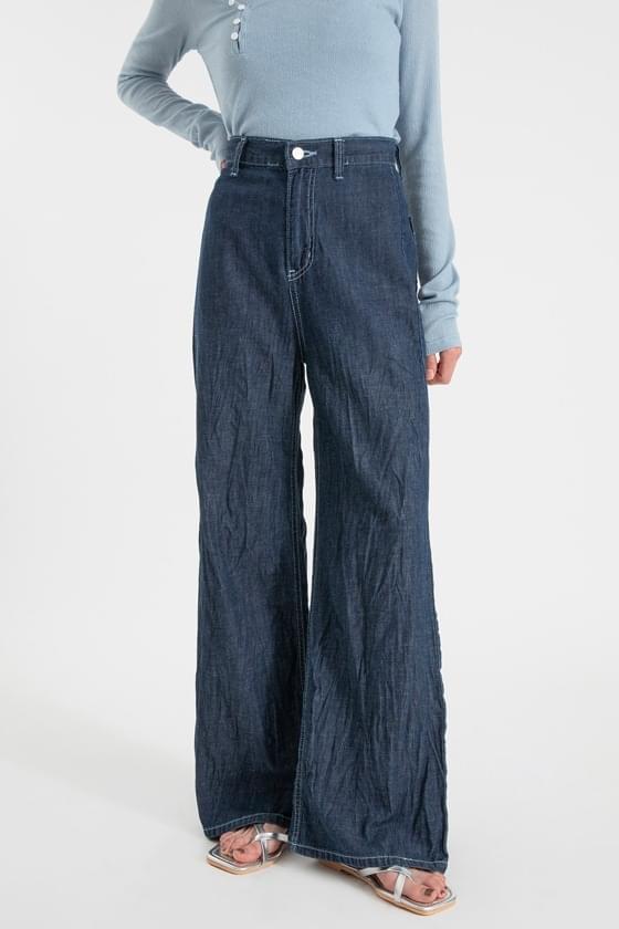 Stitch Creed Dough Boot Cut Jeans