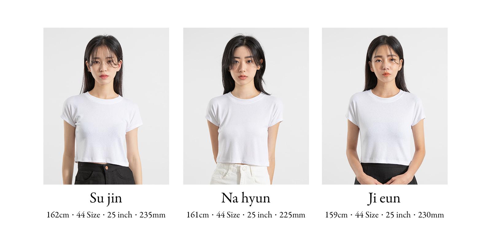 Cm deep slit over T-shirt