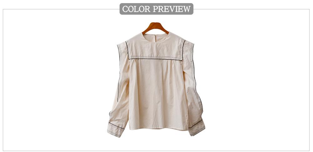 Sketch blouse