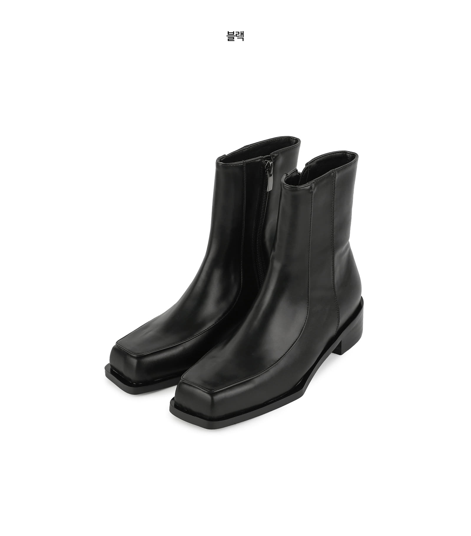 Liner modern ankle boots