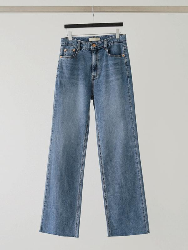 Mid straight denim pants 牛仔褲