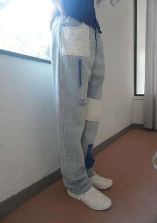 anything mix washing denim pants デニムパンツ