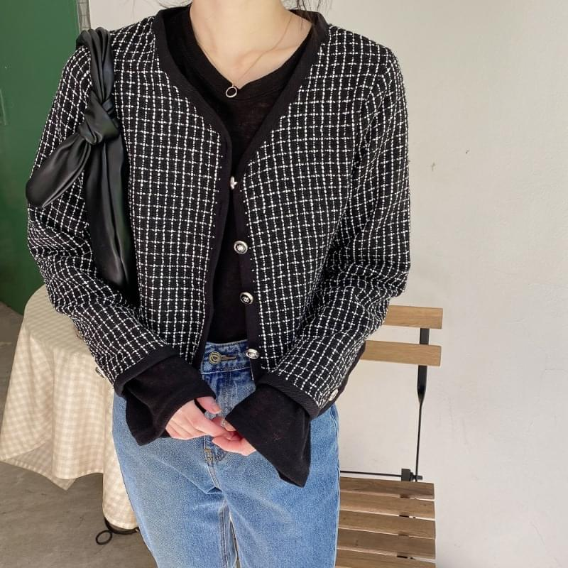 Tweed mini jacket 夾克外套