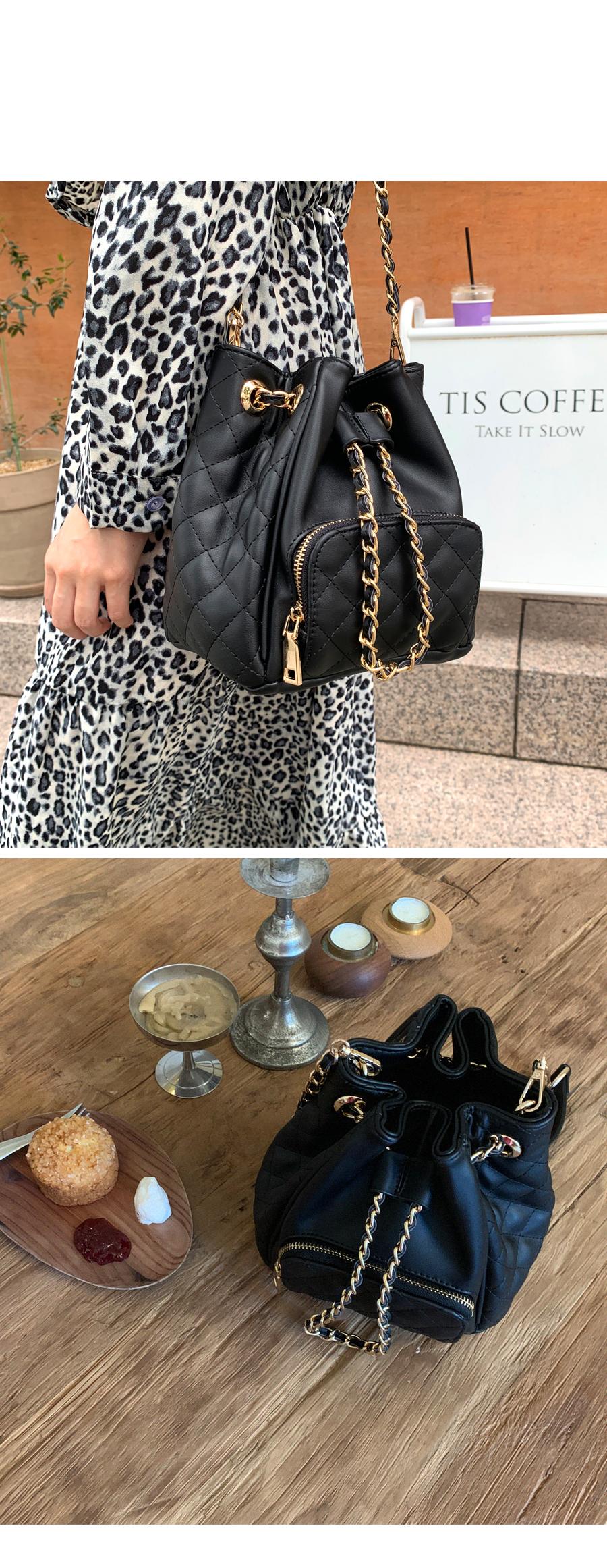 Feminine Point Chain Bag