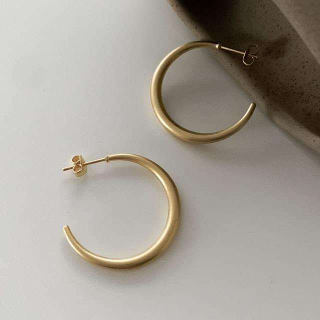 韓國空運 - Storm Matte Vintage Ring Earrings 耳環