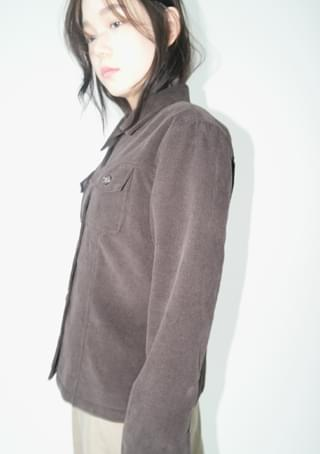 corduroy flat jacket ジャケット