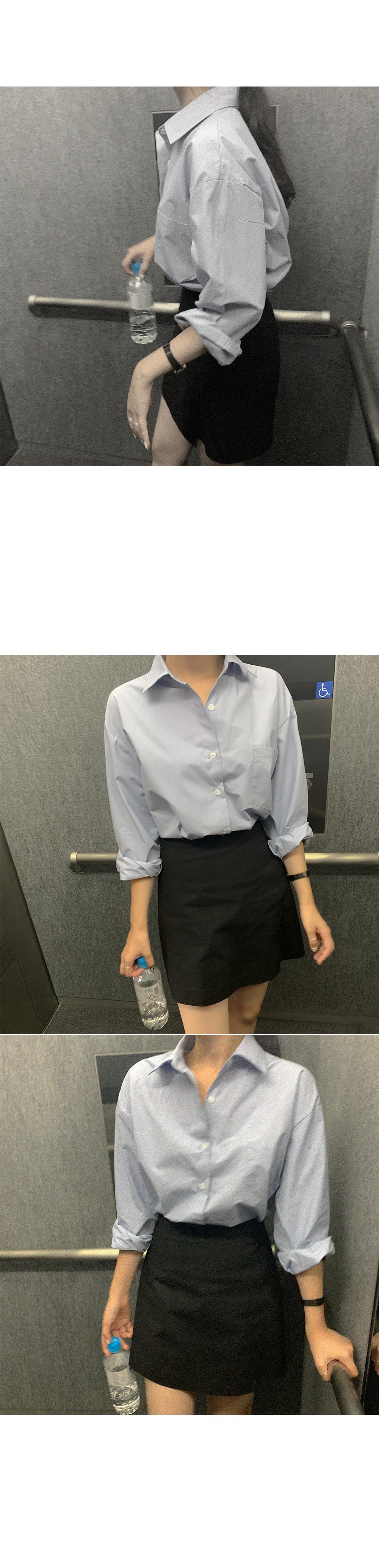 Wenan colored cotton shirt