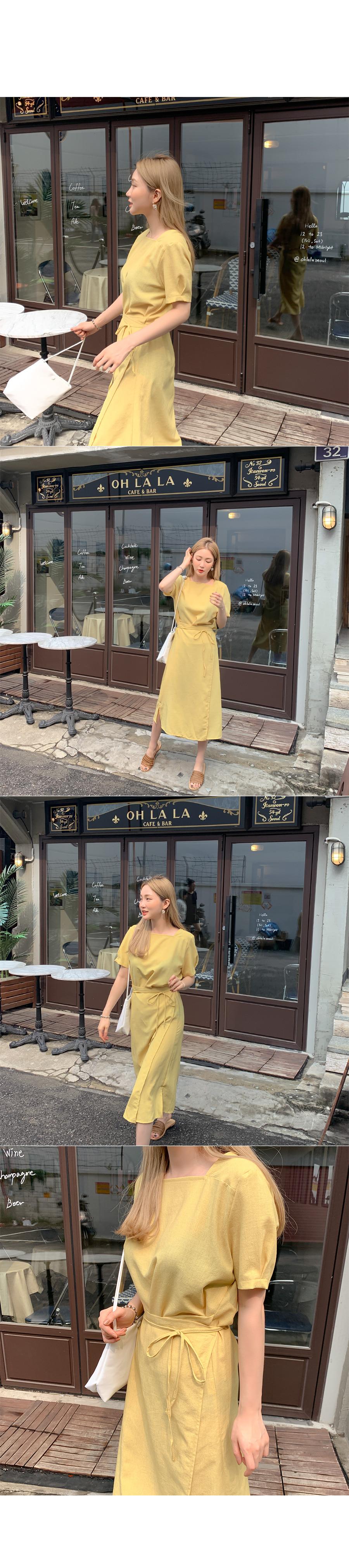 Miju Square Wrap Dress