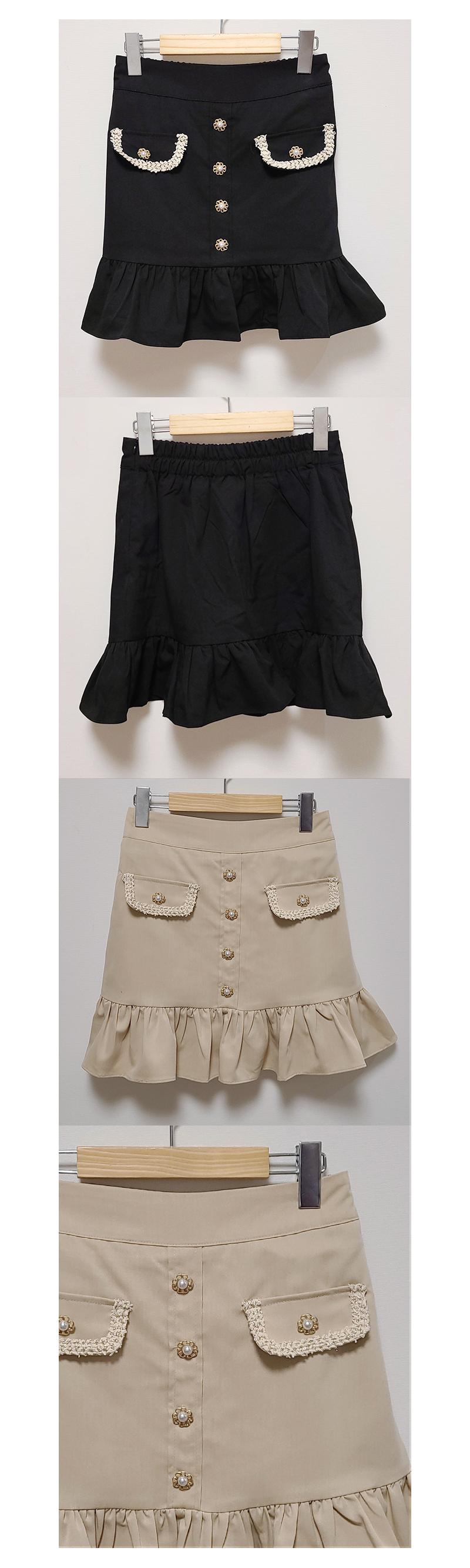 Linda jewelry skirt pants