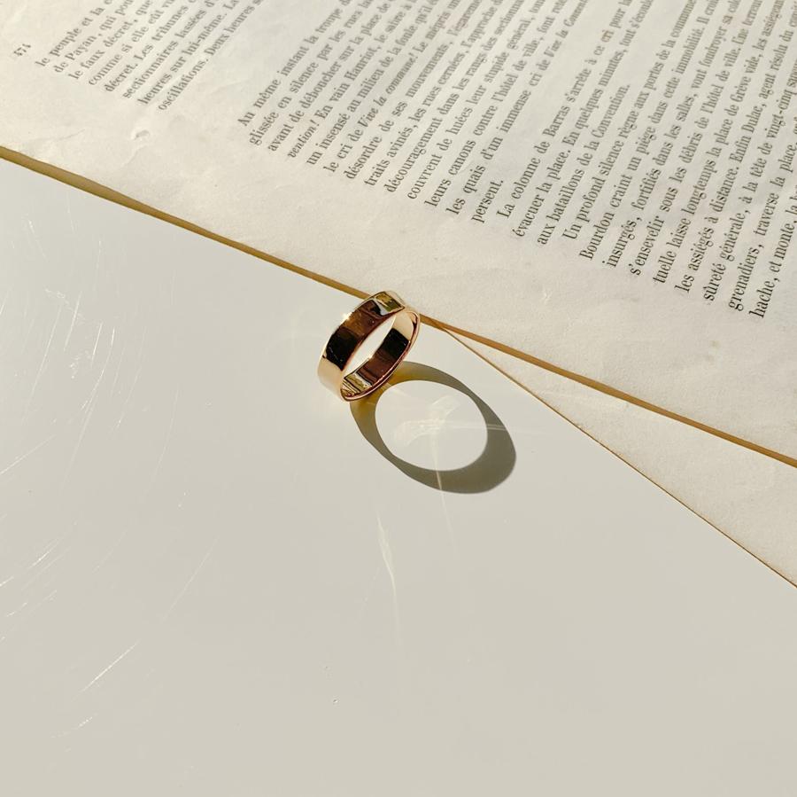 Light Peace Bold Ring