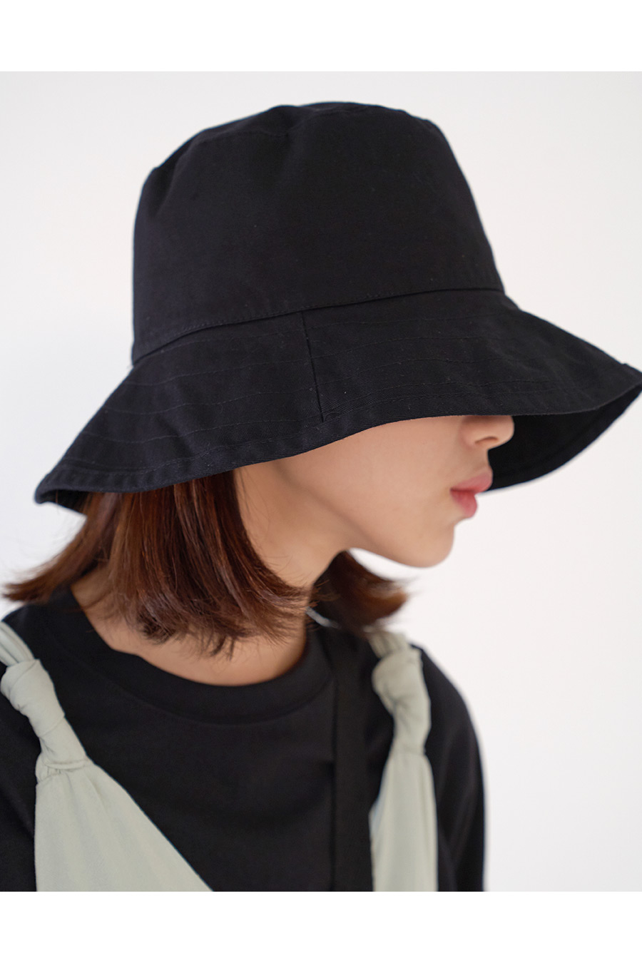 Big Cotton Bucket Hat