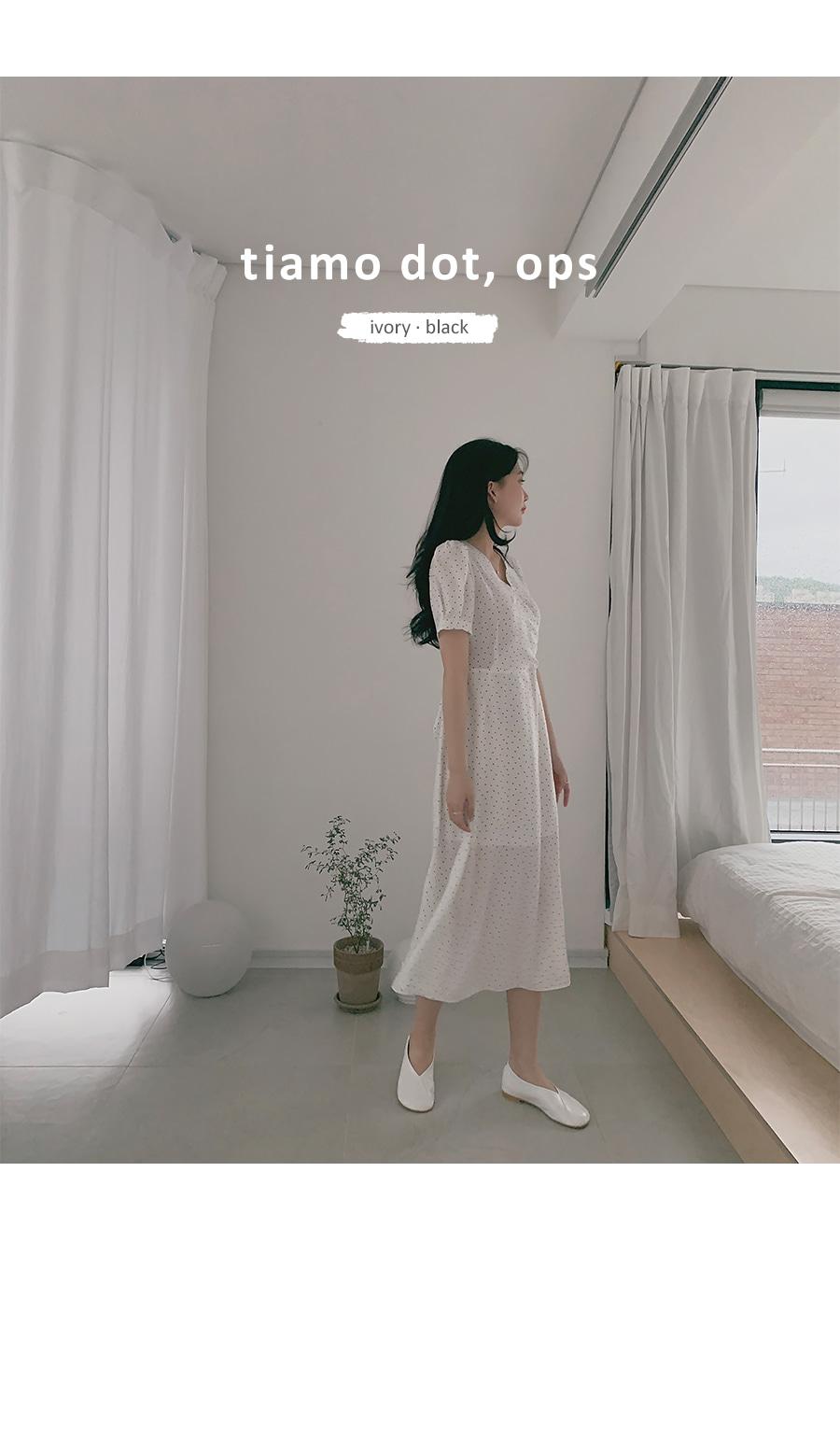 Tiamo dot dress