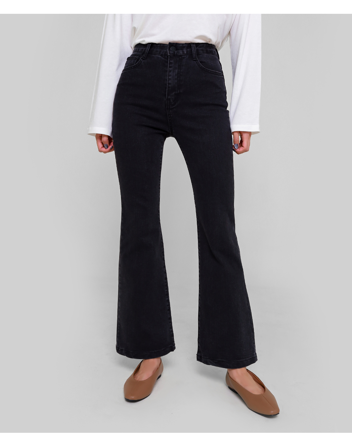 Ever bootcut trousers