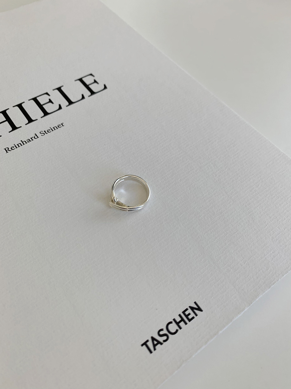 Unbal silver ring
