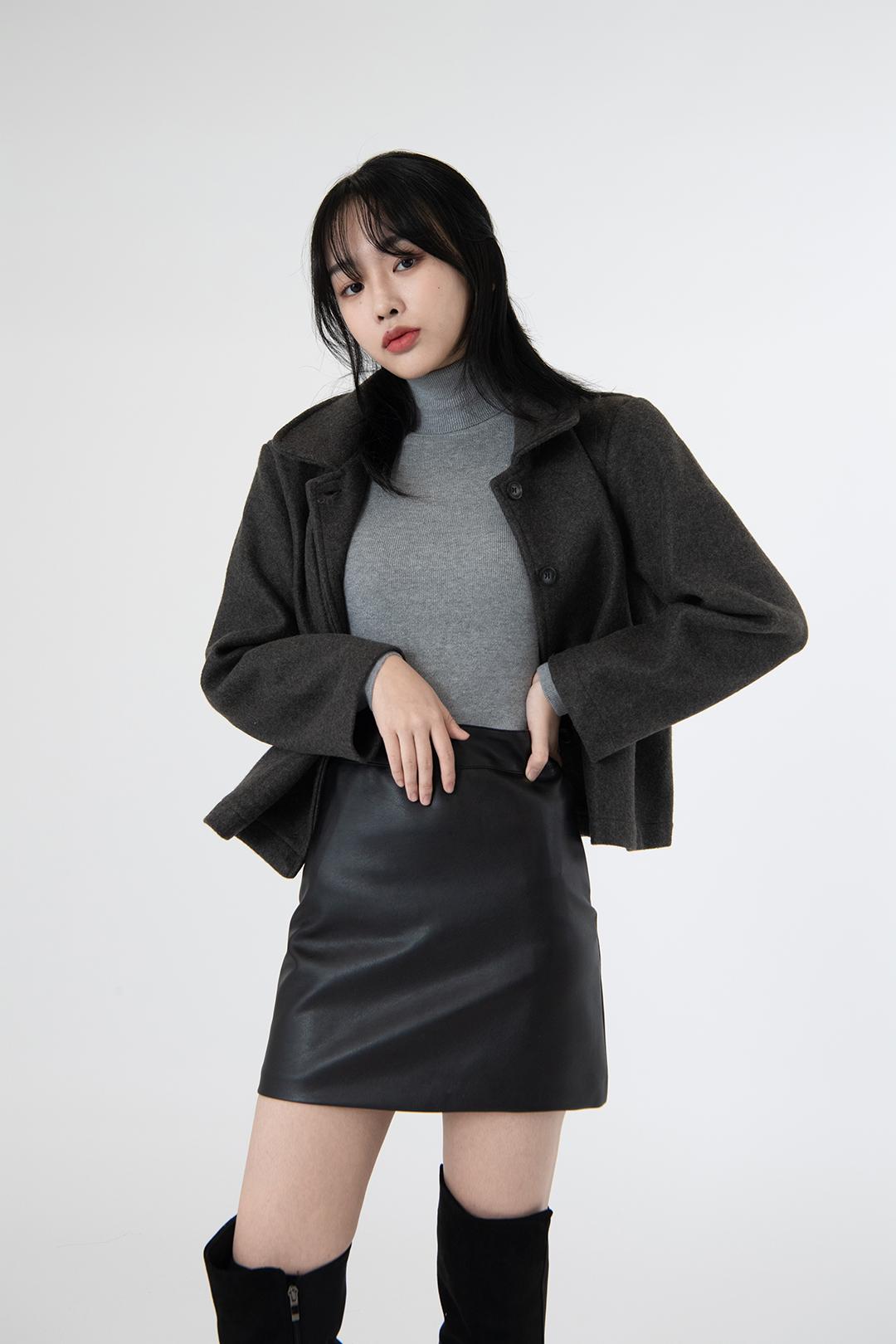 ESSAYButton-Front Boxy Jacket